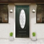 Cairo large oval glazing door