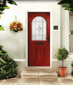 Geneva arched glazing door