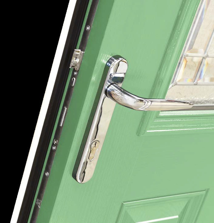 70mm Triple Glazed Double Rebated Door