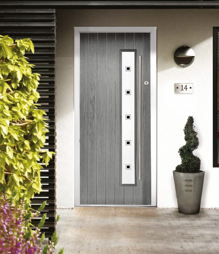 Seattle cottage style composite door